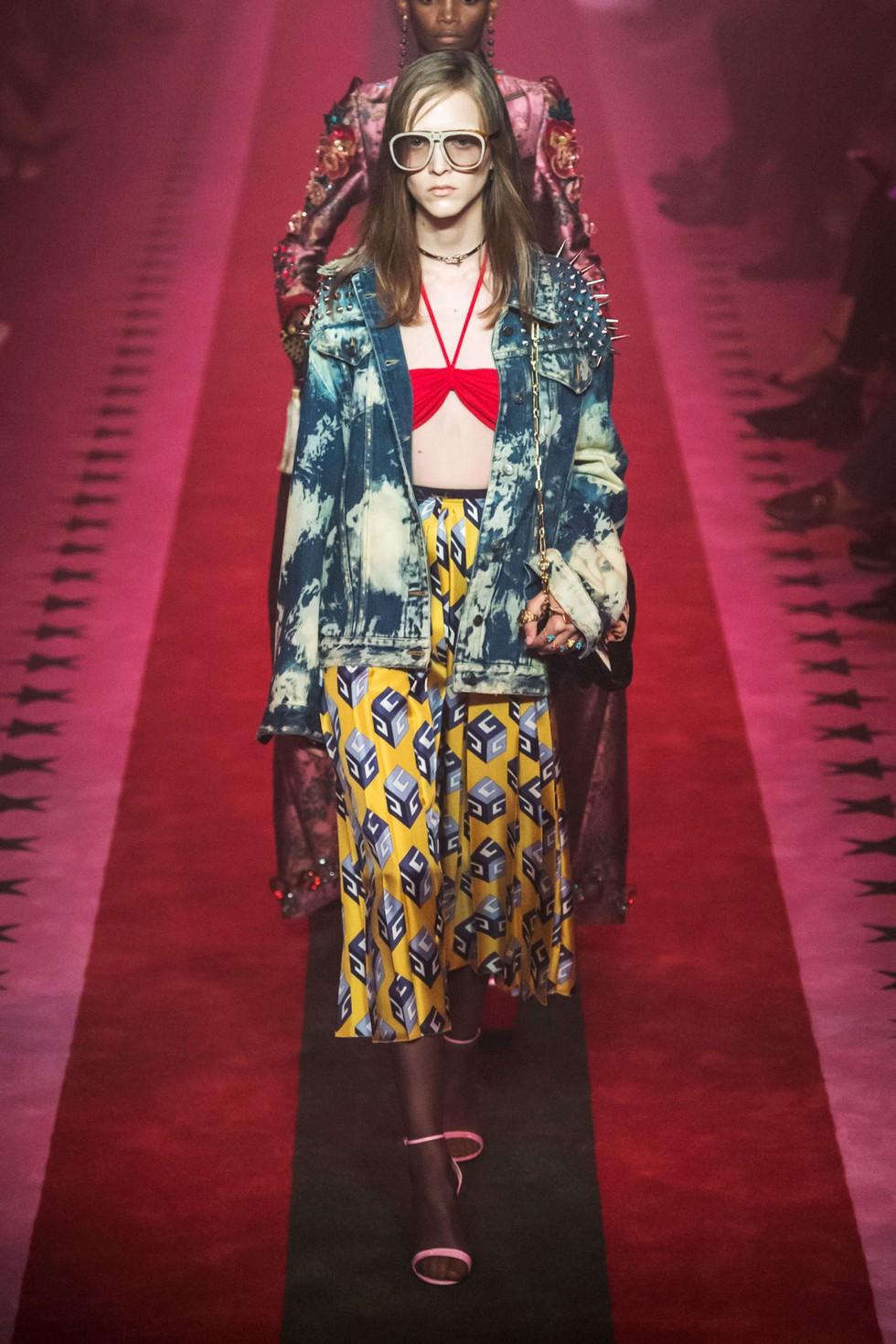 Gucci italian luxury fashion brand Milan Design Week 2016