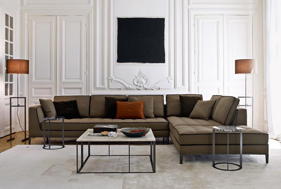 Antonio Citterio furniture - Lucrezia sofa antonio citterio Furnish your apartment with Antonio Citterio design pieces BBItalia Antonio Citterio LUCREZIA sofa