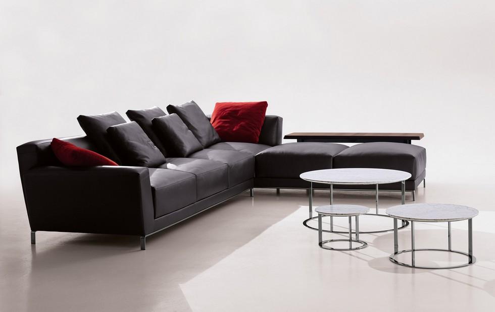 Luis sofa by Antonio Citterio antonio citterio Furnish your apartment with Antonio Citterio design pieces BBItalia Antonio Citterio Luis sofa