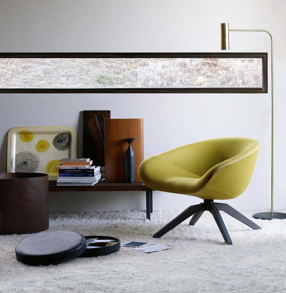 Mart Armchair by Antonio Citterio antonio citterio Furnish your apartment with Antonio Citterio design pieces BBItalia Antonio Citterio Mart armchair