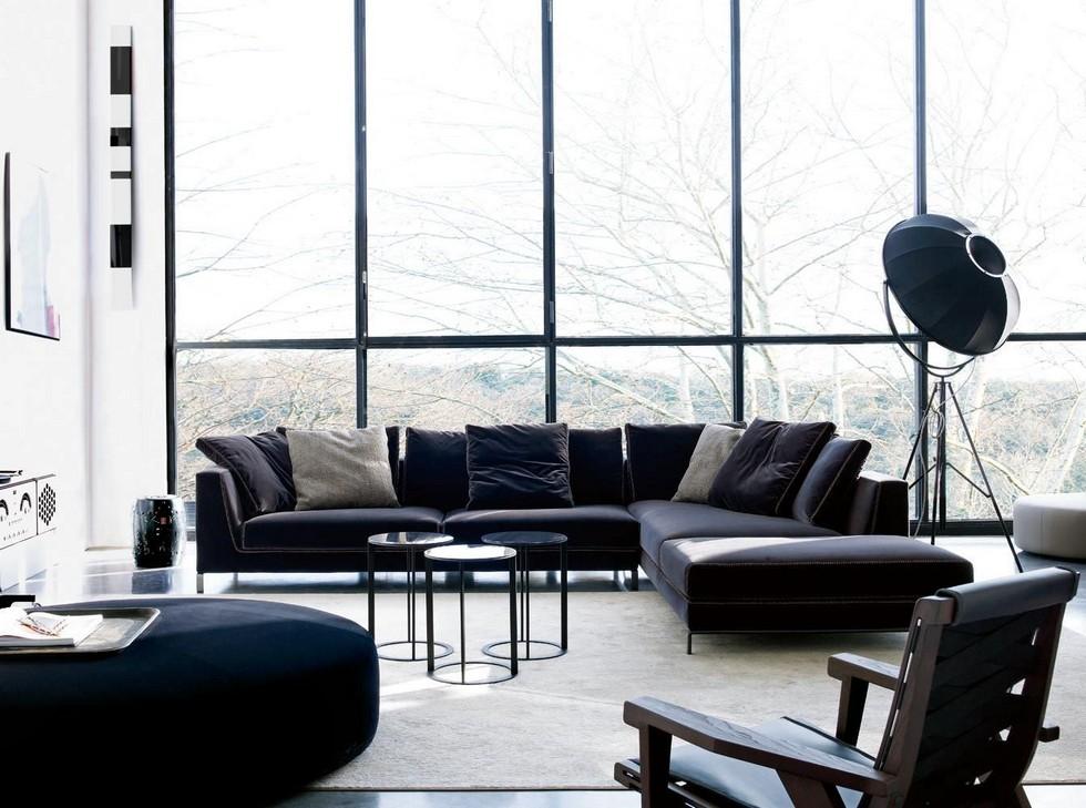 Italian design furniture by Antonio Citterio antonio citterio Furnish your apartment with Antonio Citterio design pieces BBItalia Antonio Citterio RAY sofa