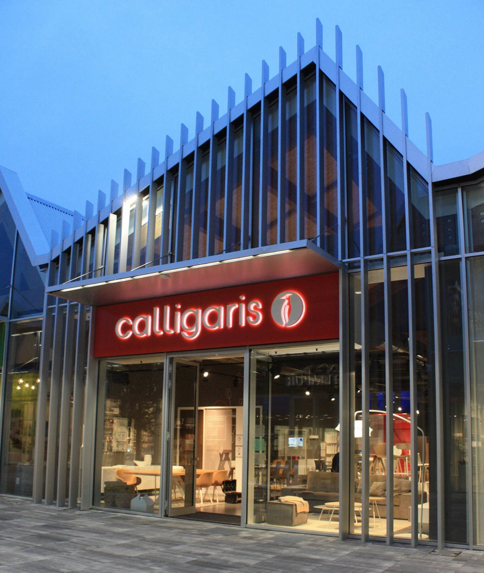 Best milan showrooms scalo milano the new italian for Calligaris scalo milano