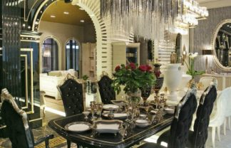 Milan furniture stores - luxury Turri showroom at Via Borgospesso