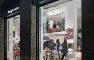 Muuto design arrives to Milan furniture store Design Republic