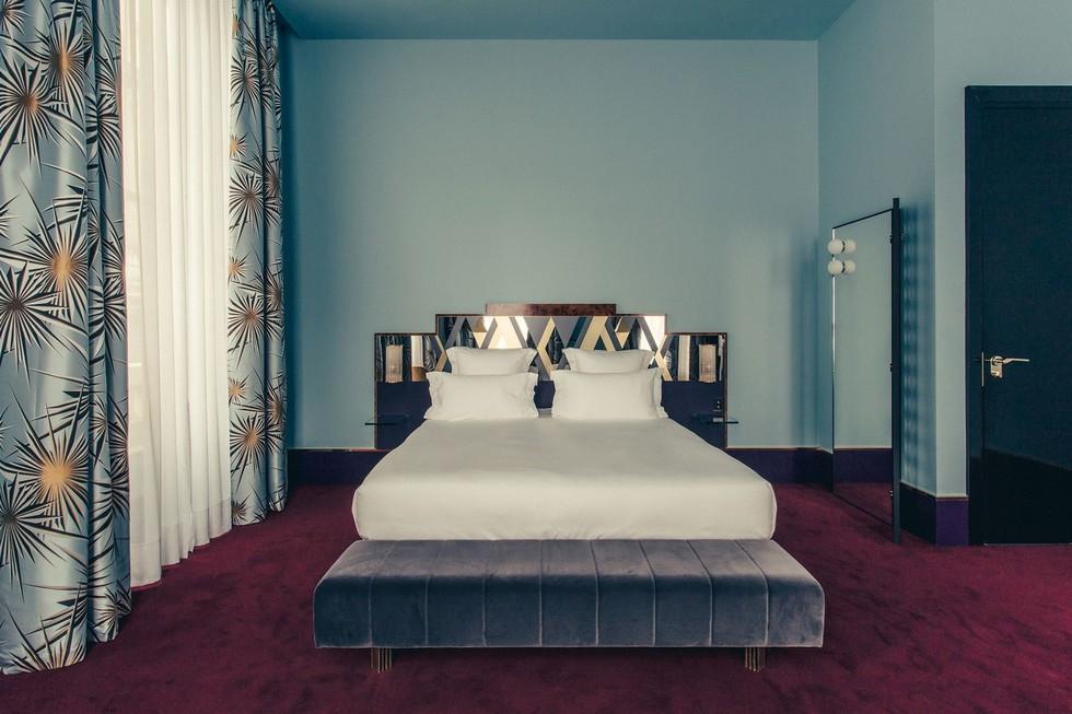 midcentury bedroom decorating ideas by Dimore Studio dimore studio Best Milan interior designers – Dimore Studio featured at 2017 AD100 Best Milan interior designers     Dimore Studio featured at 2017 AD100