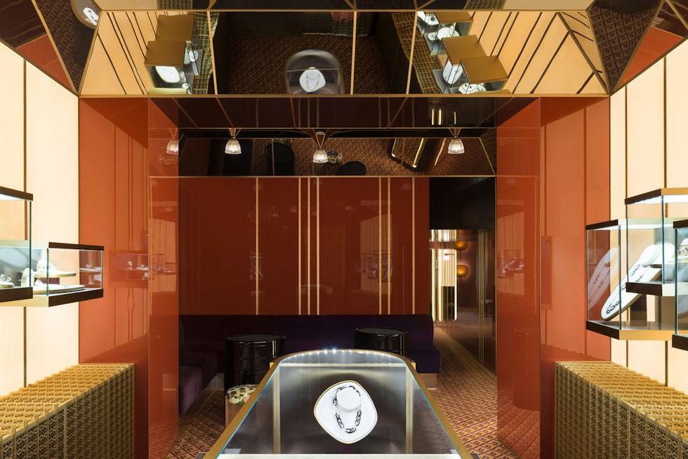 Pomelatto Boutique at Via Montenapoleone dimore studio Best Milan interior designers – Dimore Studio featured at 2017 AD100 Pomelatto Boutique at Via Montenapoleone designed by Dimore Studio 2
