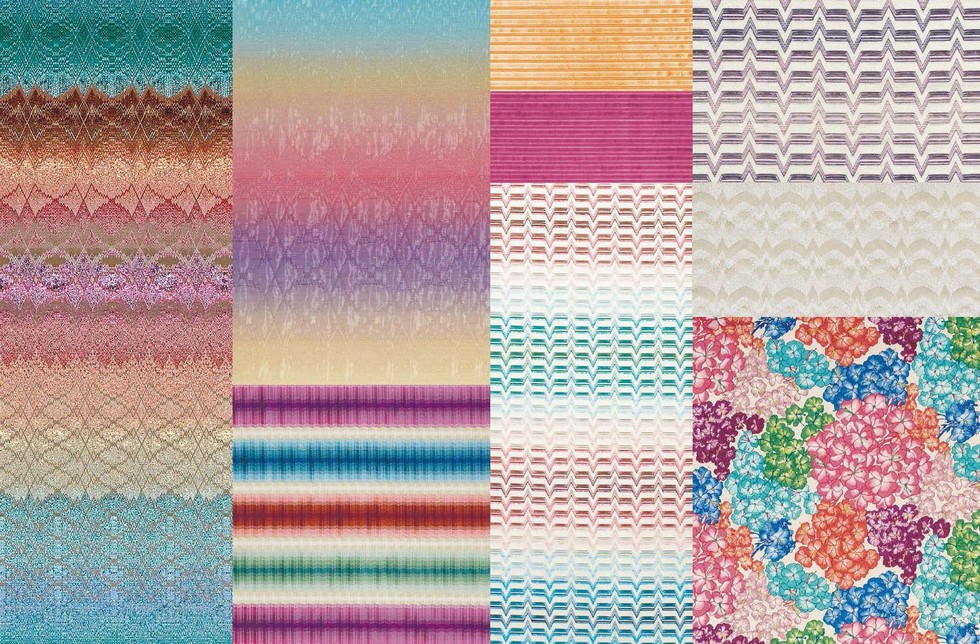 Missoni Textiles Geranium Collection Home New Textile Collections For Indoor And Outdoor
