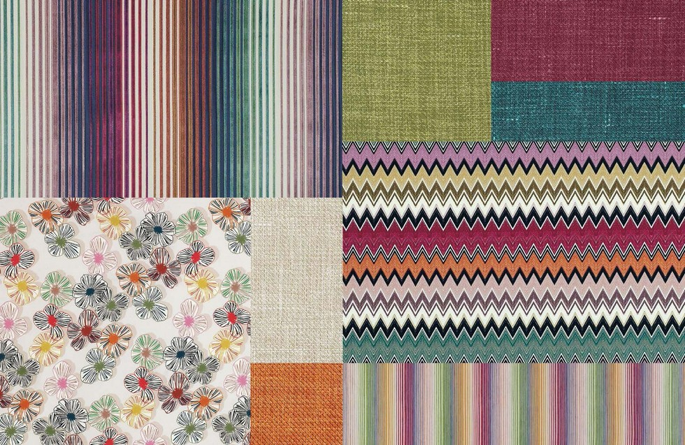 Missoni Home Fabrics Moodboard New Textile Collections For Indoor And Outdoor