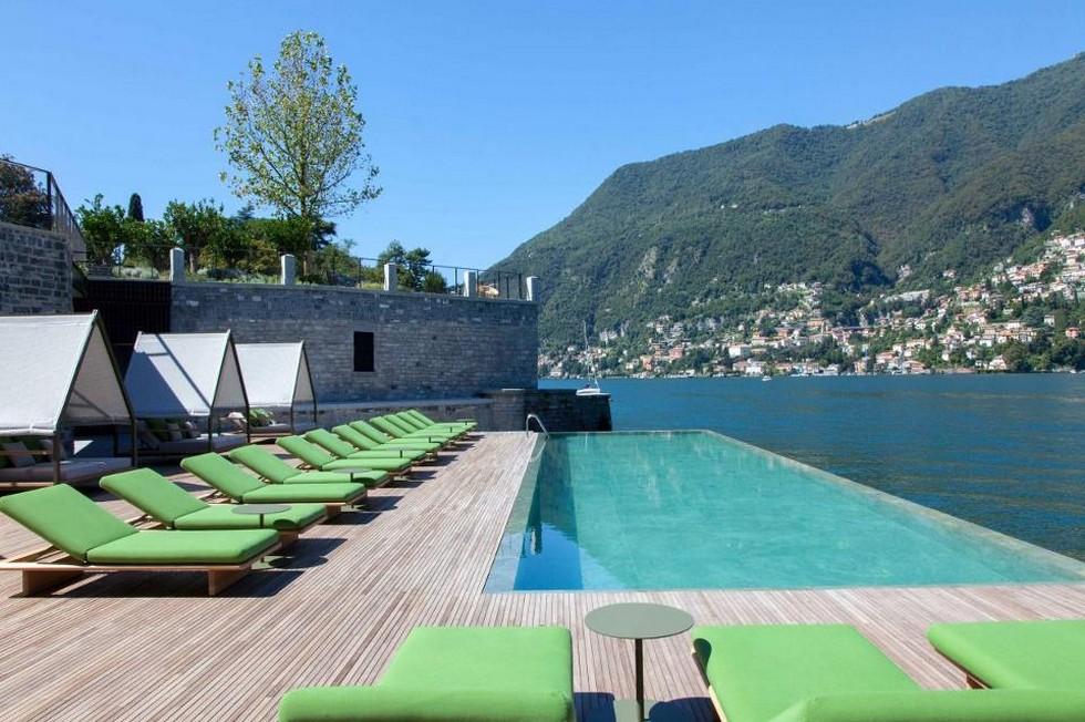 Best milan modern hotels design ideas il sereno lago di como for Best modern hotels