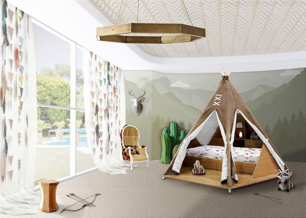 CIRCU Salone del Mobile exhibitors Salone del Mobile 2017 CIRCU, a luxury kindergarden at Salone del Mobile 2017 Circu kids furniture TEEPEE room 1