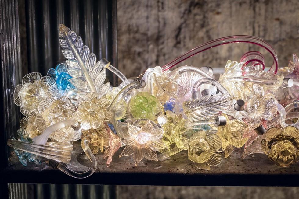 Veronese chandeliers salone del mobile 2017 Salone del Mobile 2017 – Piet Hein Eek remakes Veronese chandeliers Veronese chandeliers