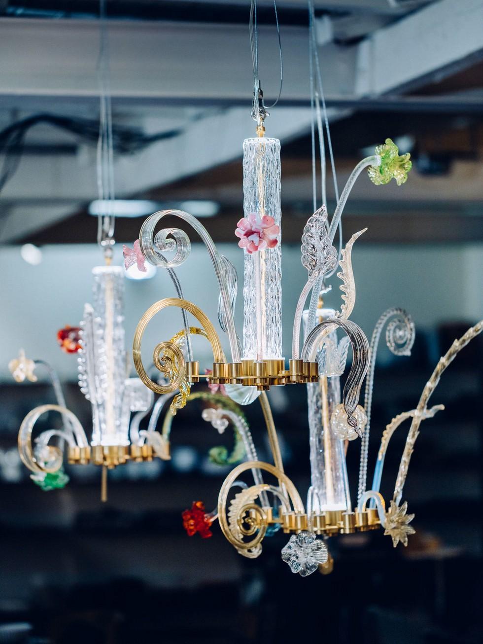 Veronese chandeliers salone del mobile 2017 Salone del Mobile 2017 – Piet Hein Eek remakes Veronese chandeliers Veronese