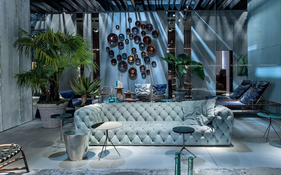 Baxter sofas salone del mobile 2017 Salone del mobile 2017 recap - Baxter brings new room ideas Salone del Mobile 2017 Baxter 8