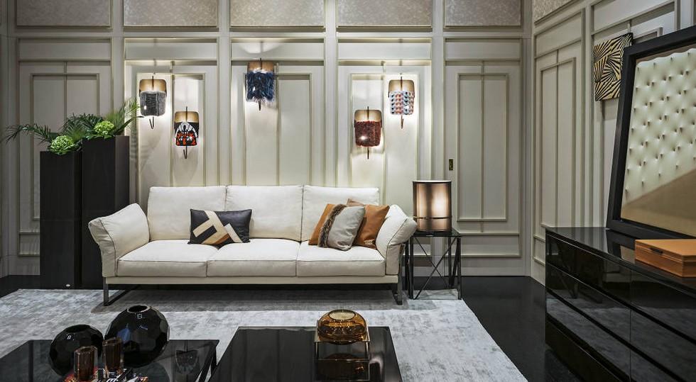 Fendi Casa furniture Milan design stores Milan design stores – first Fendi Casa flagship store Fendi Casa flagship store 2