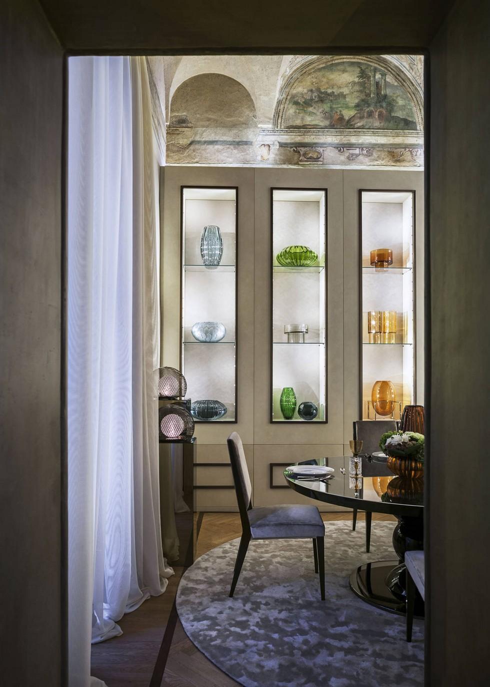 Fendi Casa dining room idea Milan design stores Milan design stores – first Fendi Casa flagship store Fendi Casa flagship store 4