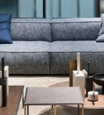 Living Divani new collection, metallic finishes as latest addiction