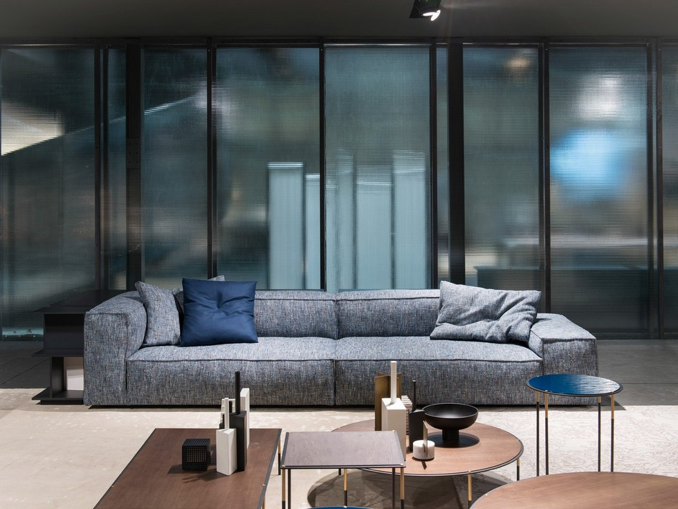 Living Divani new collection, metallic finishes as latest