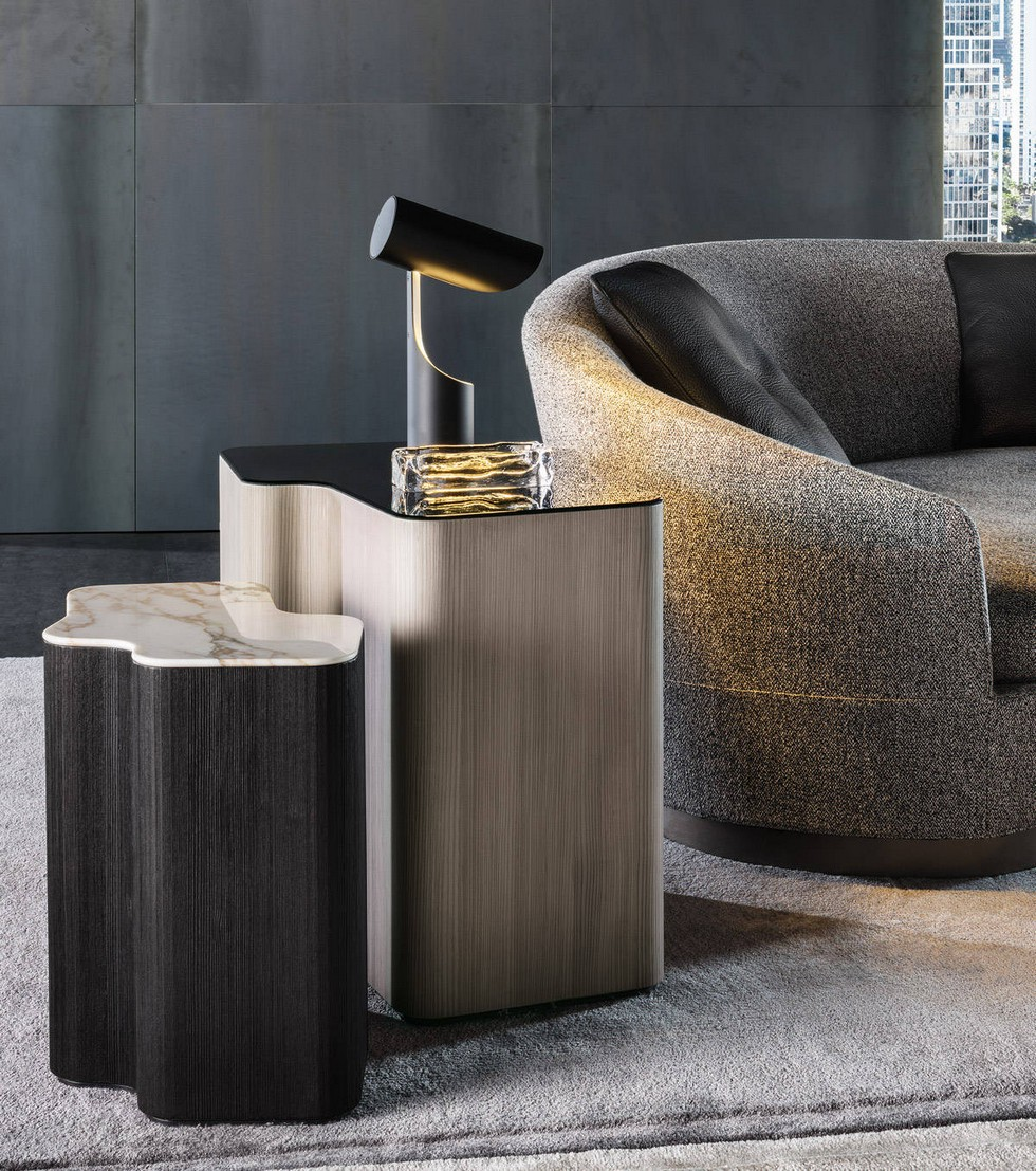 Lou coffee table by Christophe Delcourt to Minotti