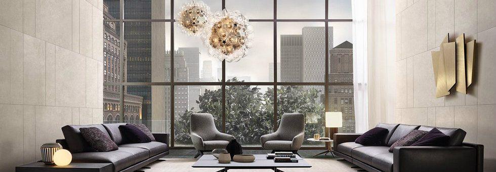 Best italian design - Mondrian collection by Jean Massaud for Poliform