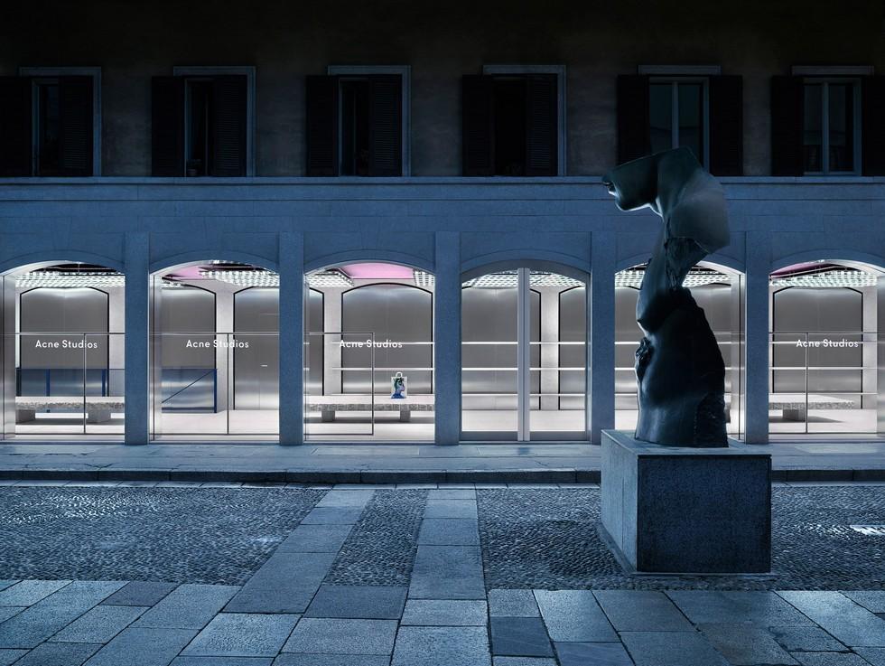 Milan boutique store Acne