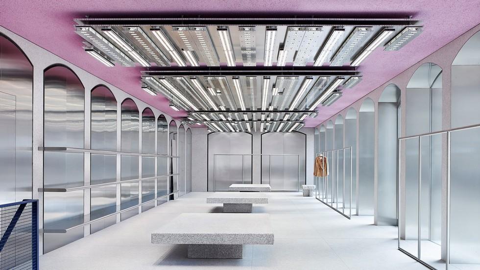 Acne Studios Milan fashion store