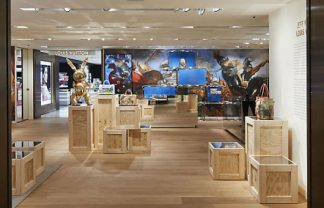 Milan shopping guide – first pop up Louis Vuitton store