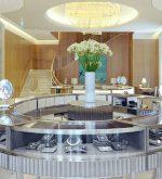 Tiffany Milan store luxury interiors