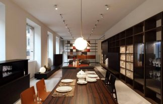 Italian design brands Porro showroom