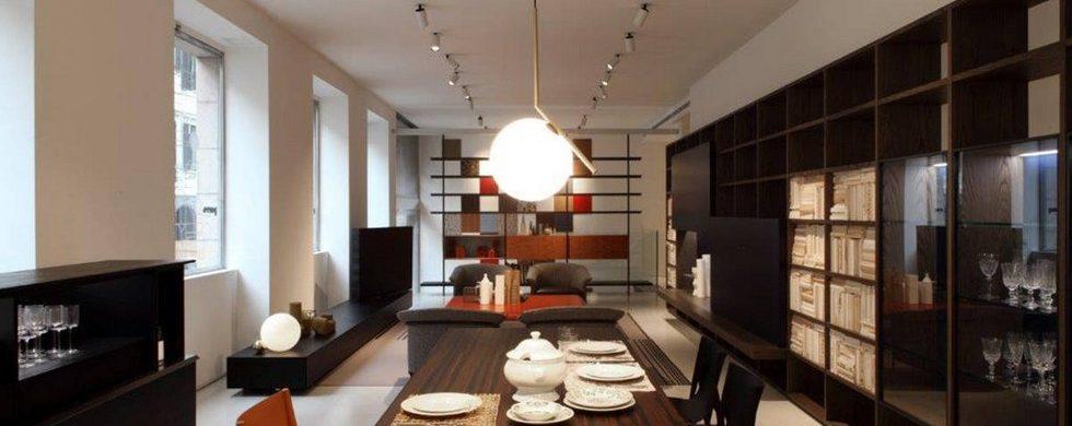 Italian design brands Porro showroom