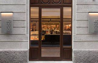 New Milan restaurant – 40 30 30 designed by Patricia Urquiola