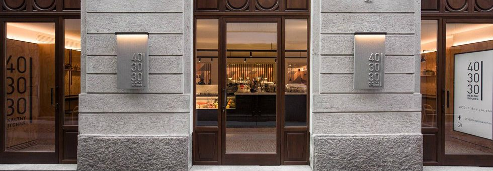 New Milan restaurant – 40 30 30 designed by Patricia Urquiola
