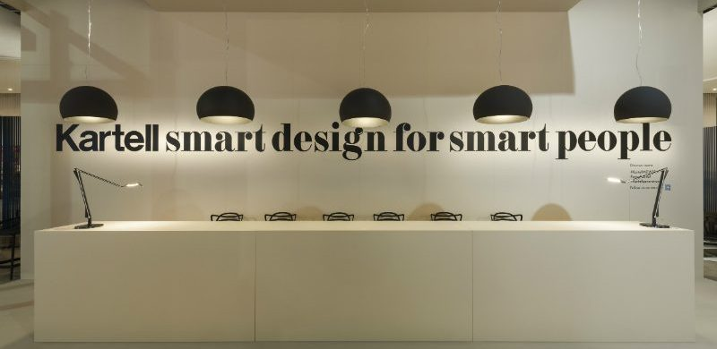 Kartell's Smart Design for Smart People at Salone del Mobile