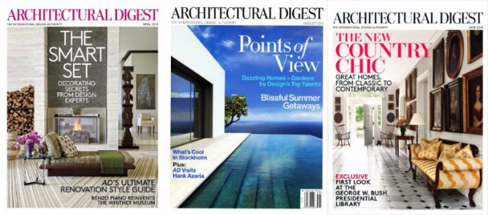 These are some of the Best Interior Design Magazines Interior Design Magazines These are some of the Best Interior Design Magazines ARCHITECTURAL DIGEST Milan 700x308