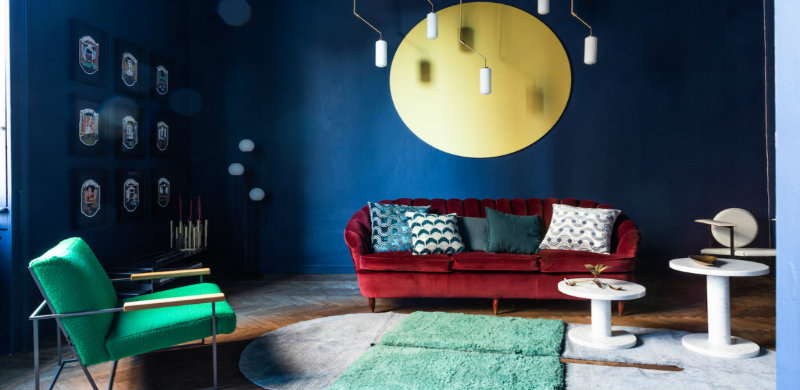 PallermoUno: meet the new colorful design gallery in Milan
