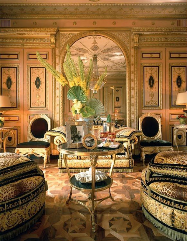 The Best Italian luxury living room designs from celebrity homes living room designs The Best Italian luxury living room designs from celebrity homes Donatella Versace