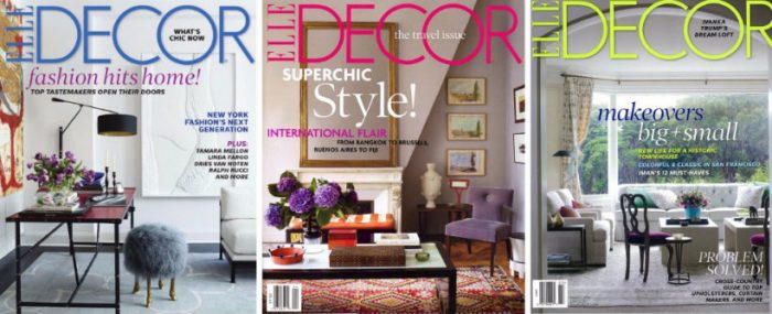 These are some of the Best Interior Design Magazines Interior Design Magazines These are some of the Best Interior Design Magazines Elle Decor Milan 700x285