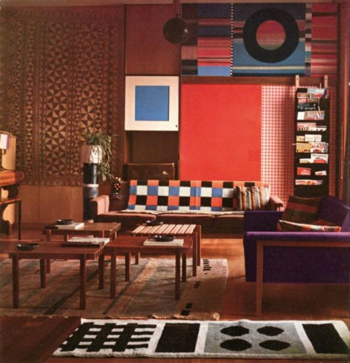The Best Italian luxury living room designs from celebrity homes living room designs The Best Italian luxury living room designs from celebrity homes Ettore Sottsass Milan Apartment 1959 1stdibs 700x725