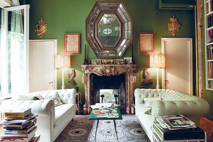 The Best Italian luxury living room designs from celebrity homes living room designs The Best Italian luxury living room designs from celebrity homes Fornasetti Living Room 700x467