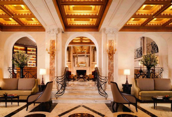 luxury lobby designs Italy's 10 best luxury lobby designs Hotel Eden 700x475
