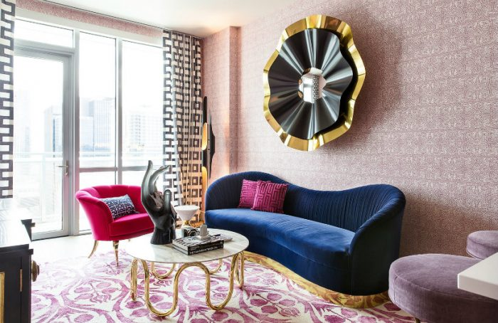 2018 color trends 2018 Color Trends from Milan Design Week to Know Before The Year Ends Millenial Pink 700x454