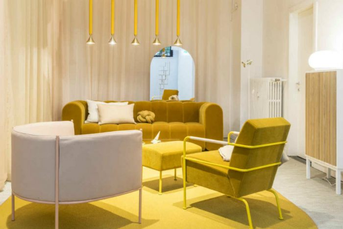 2018 Color Trends from Milan Design Week to Know Before The Year Ends 2018 color trends 2018 Color Trends from Milan Design Week to Know Before The Year Ends Yellow 700x467