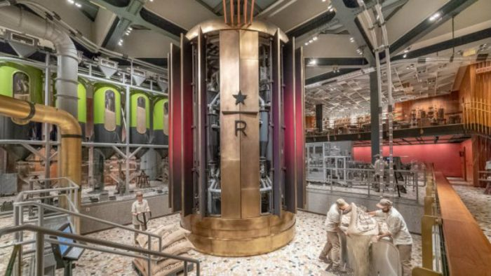 Have you seen the inside of the first Starbucks Roastery in Milan? Starbucks Have you seen the inside of the first Starbucks Roastery in Milan? img3 700x394