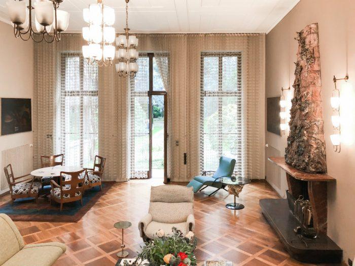 A look inside Milan's Villa Borsani, home of Osvaldo Borsani Villa Borsani A look inside Milan's Villa Borsani, home of Osvaldo Borsani Borsani4 700x525