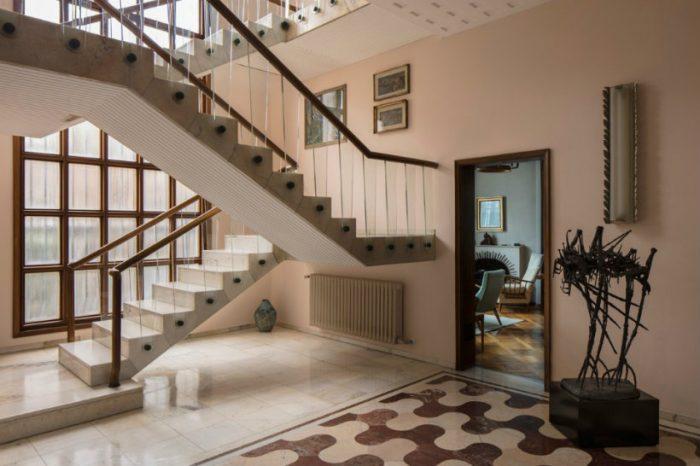 A look inside Milan's Villa Borsani, home of Osvaldo Borsani Villa Borsani A look inside Milan's Villa Borsani, home of Osvaldo Borsani Borsani6 700x466