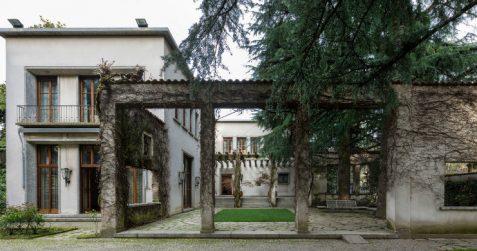A look inside Milan's Villa Borsani, home of Osvaldo Borsani