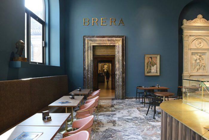 Caffè Fernanda: a cafe in Milan with glamour from the 50s cafe in milan Caffè Fernanda: a cafe in Milan with glamour from the 50s IMG3 3 700x469