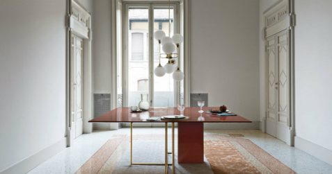 Have a look at Plinto table collection by Meridiani