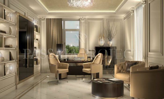 Have you seen Nicolò Passaia's design work on a modern villa?