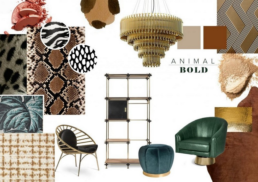 See some Top Furniture Trends By Top Luxury Brands for 2020! top furniture trends See some Top Furniture Trends By Top Luxury Brands for 2020! AnimalBold Moodboard