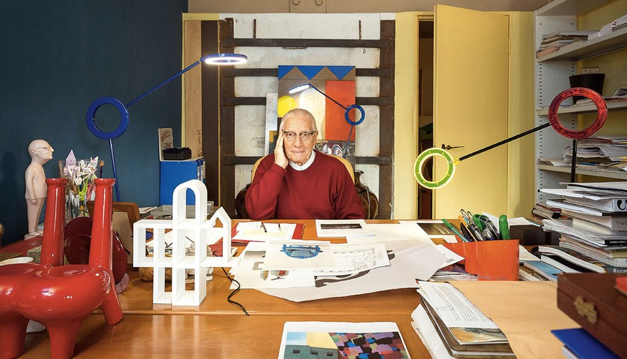 A lookback at Alessandro Mendini's legacy in the design world alessandro mendini A lookback at Alessandro Mendini's legacy in the design world AtelierMendini2